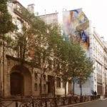 Laure Bourdier - fresque extérieure