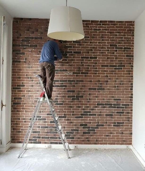 peindre briquette de parement bombe peinture pour tissu canap best of plaquette de parement. Black Bedroom Furniture Sets. Home Design Ideas