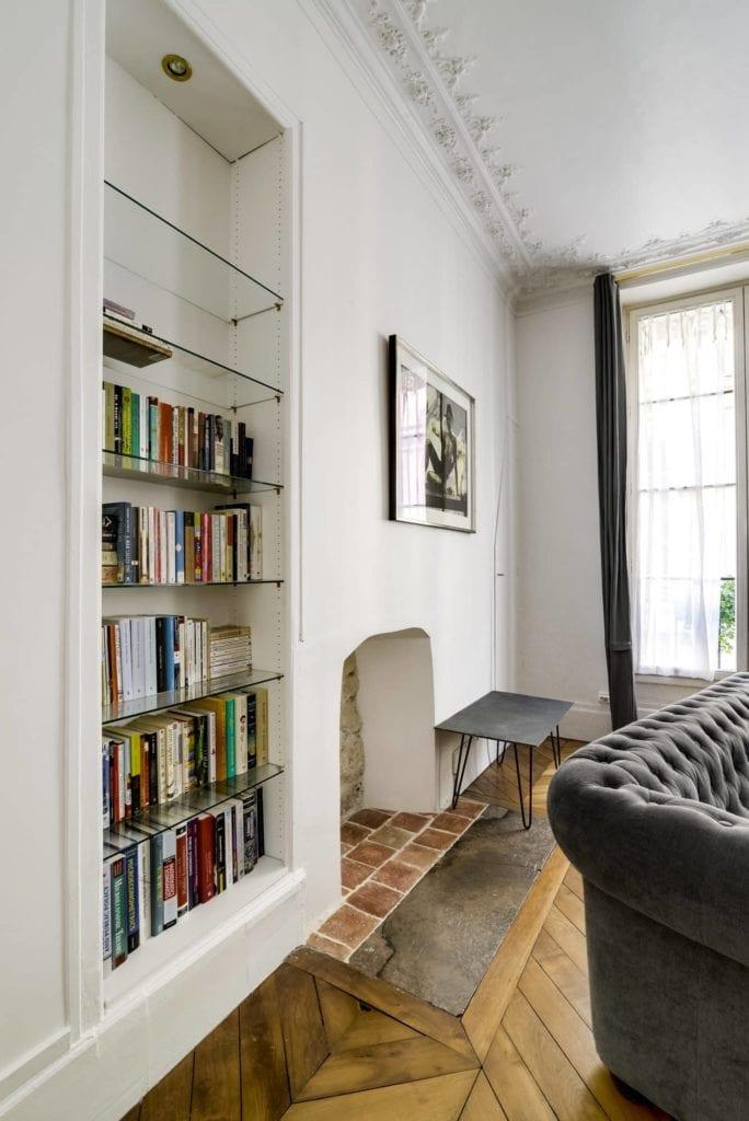 rafra chissement des peintures dans un appartement haussmannien monsieur peinture. Black Bedroom Furniture Sets. Home Design Ideas