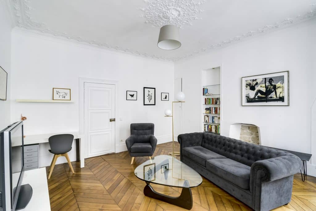 Peintures Farrow & Ball dans appartement haussmannien