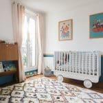 Deux chambres rénovées avec des peintures Little Greene