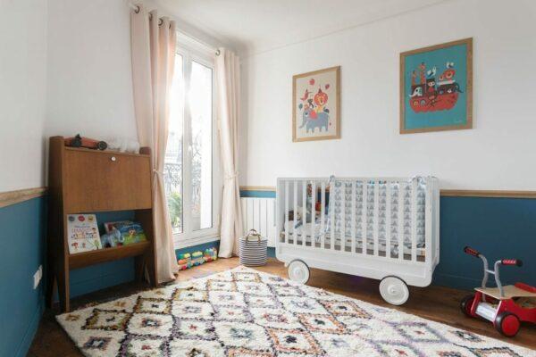 Chambres rénovées avec des peintures Little Greene colorées