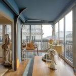 Peinture Argile dans un appartement avec moulures