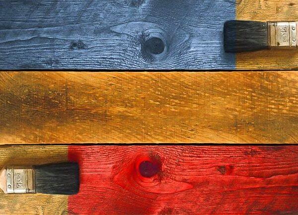 peindre du bois
