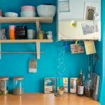 Rénovation appartement avec un camaïeu de bleu