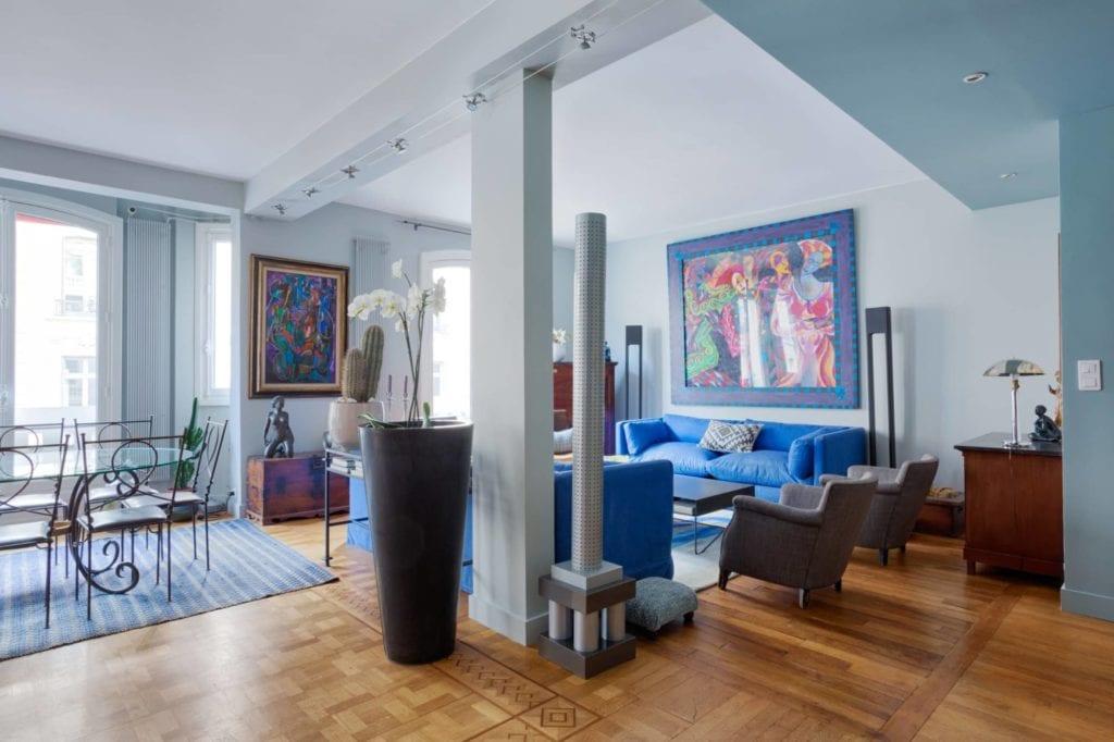 Conseil couleur et transformation d'un appartement