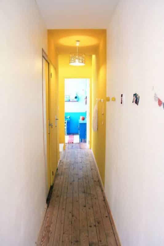 Couloir Monochrome Murs Et Plafond Monsieur Peinture