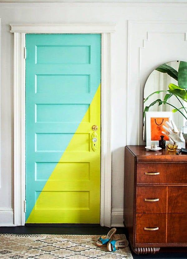 top 15 des d corations d 39 int rieur en peinture monsieur peinture. Black Bedroom Furniture Sets. Home Design Ideas