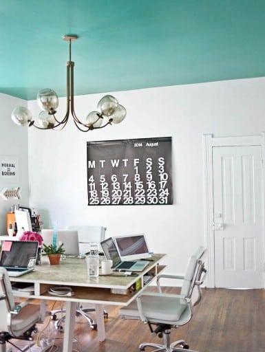 Peindre Plafond En Couleur Peindre Plafond En Couleur ...