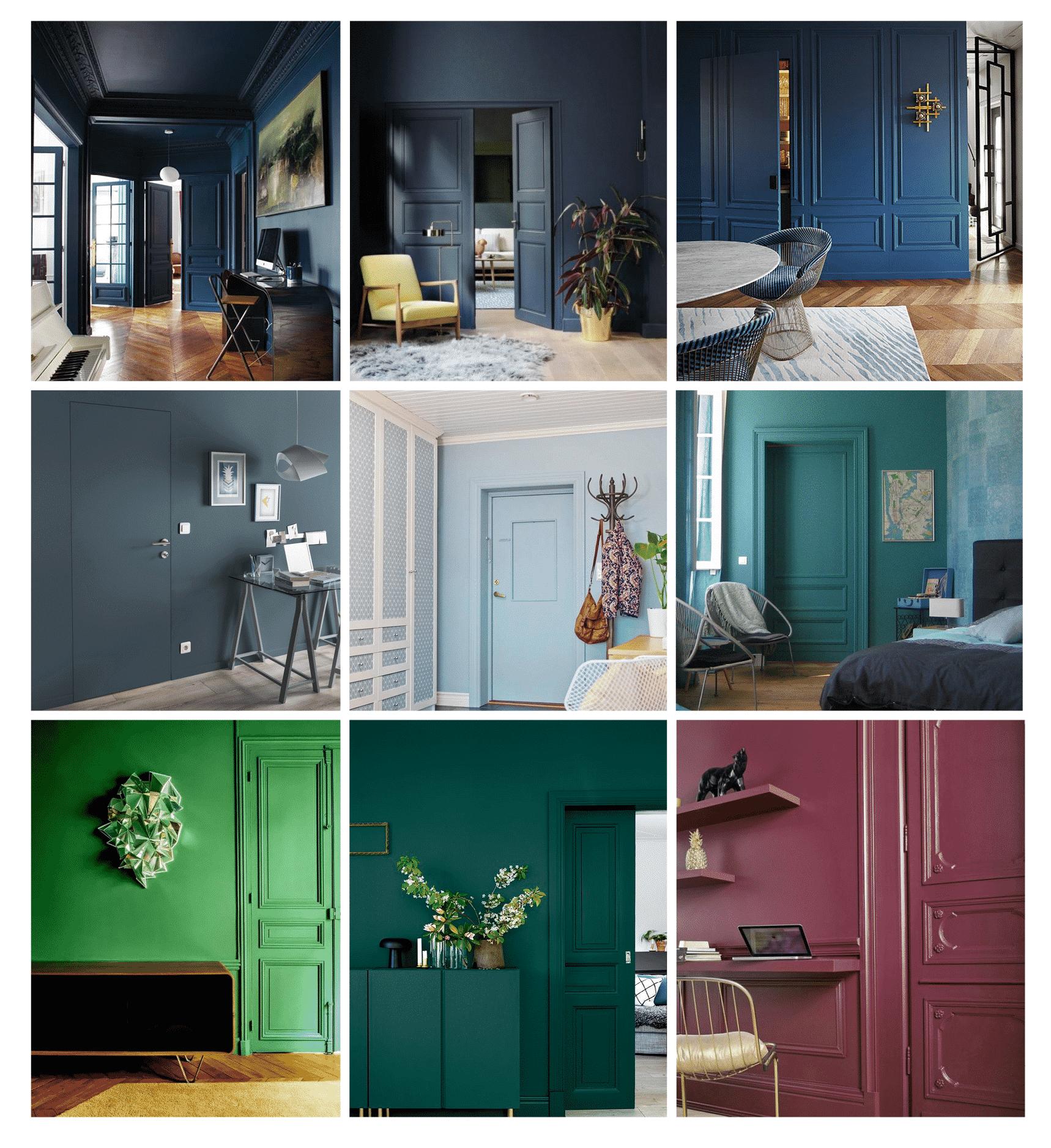 Peindre 2 Murs Sur 4 comment peindre une porte intérieure en couleur ? - monsieur