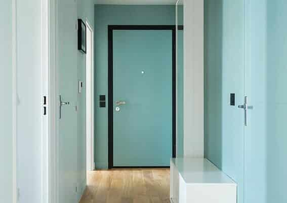peinture Farrow and ball couloir