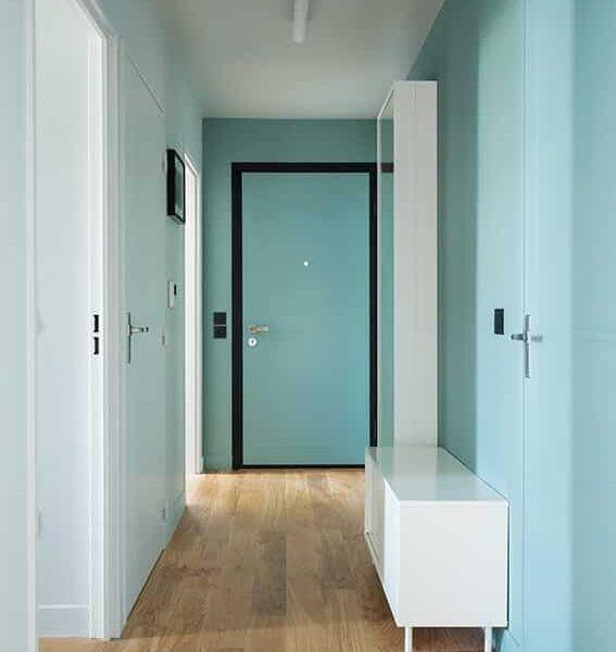 peinture Farrow and ball couloir