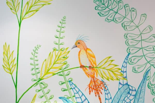 Fresque artistique EPHAD