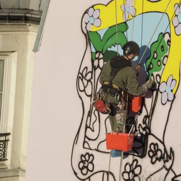 Devis ravalement de façade par Monsieur Peinture - Peintre cordiste