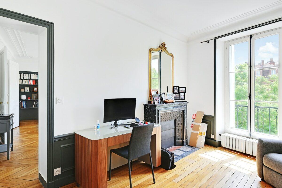 Monsieur Peinture - Rénovation complète dans un appartement à Saint-Mandé